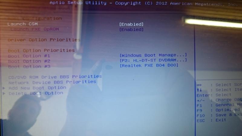 Ecran inchangé au démarrage sur PC Portable ASUS Dsc_0910