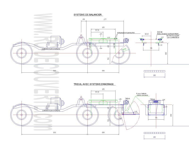 Fabriquer un Balancier pour 6x6 et 8x8 Scale Trial et Crawler fait maison et pas cher - Page 4 Balanc10