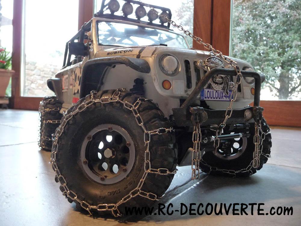 Fabriquer des chaines de roue pour SCX10 et tout Scale Trial et Crawler Nouvel10