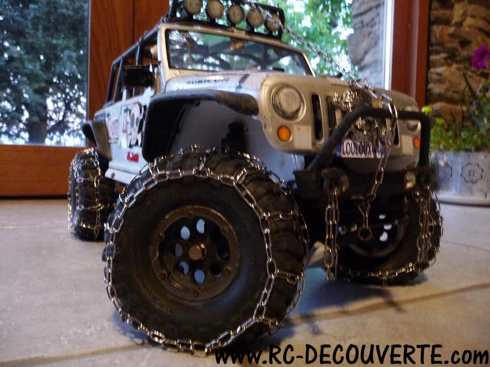 Fabriquer des chaines de roue pour SCX10 et tout Scale Trial et Crawler Nouvel11
