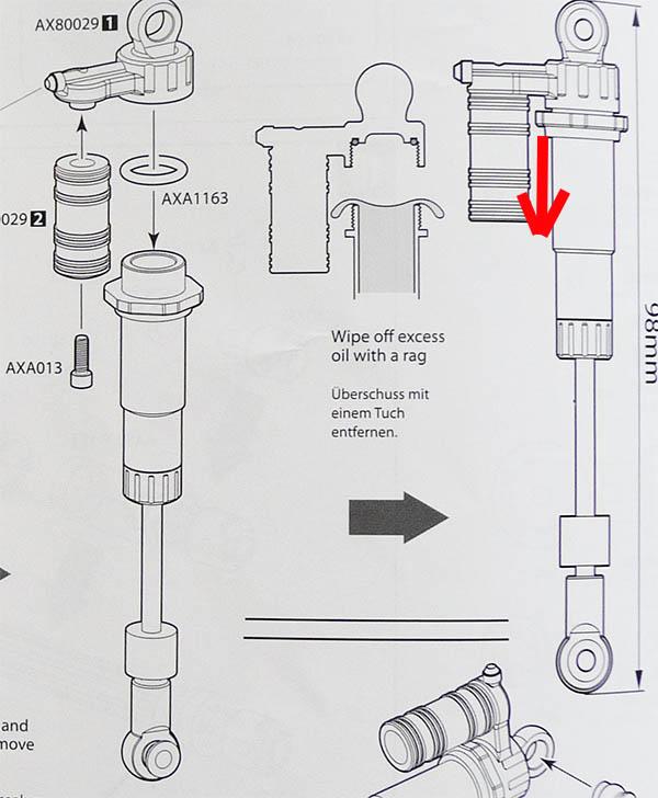 Comment régler ses suspensions ou amortisseurs pour plus de croisement pour scale 4x4 et crawler Serrag10
