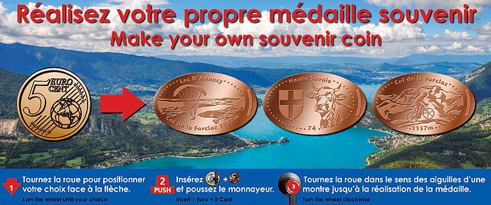 Elongated par graveur Eti Medals Col_de11