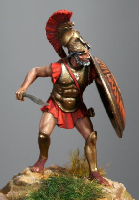 Hoplite grec ou Léonidas Ier Img_6515