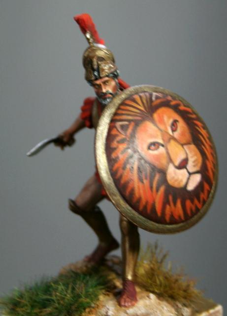Hoplite grec ou Léonidas Ier Img_6516