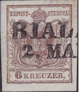 Die erste Österreichische Ausgabe 1850 - Seite 12 Biala10