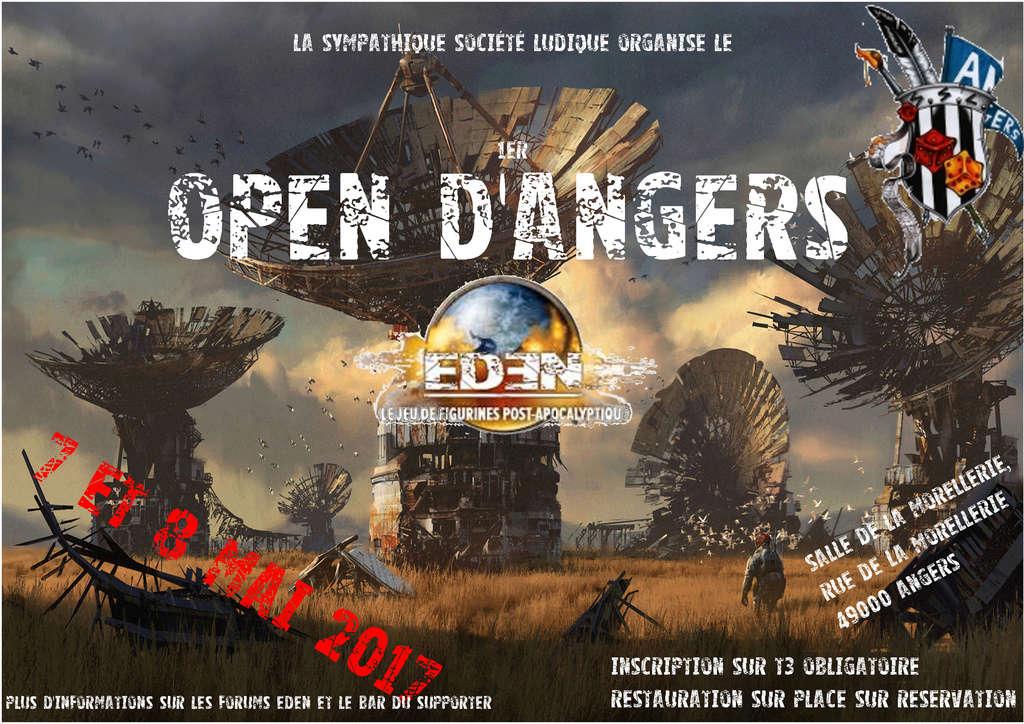 1er Open EDEN d'ANGERS – Dimanche 7 et Lundi 8 Mai 2017 Affich10