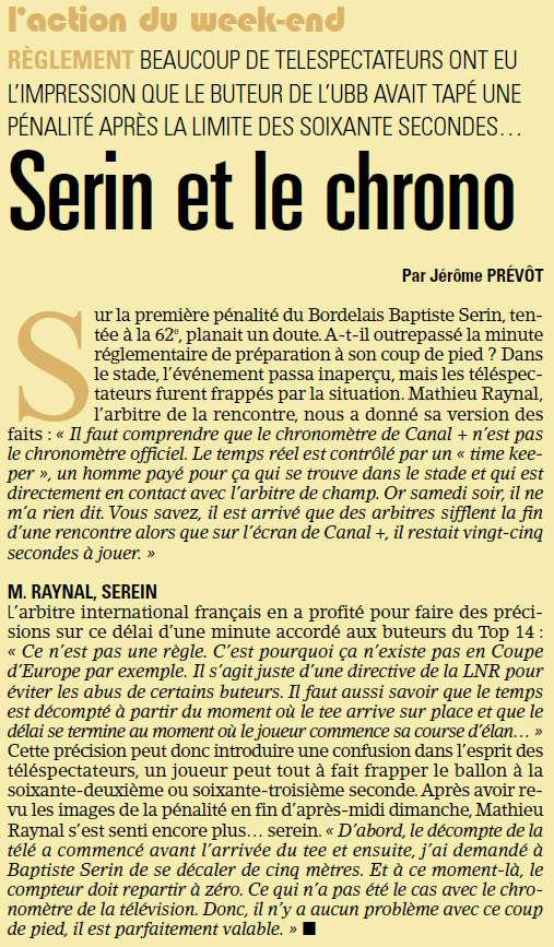 TOP14 - 22ème journée : UBB / Toulouse - Page 7 Serin10