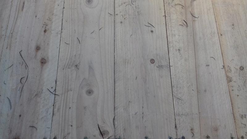 remorque - plancher neuf sur ma remorque  20170510