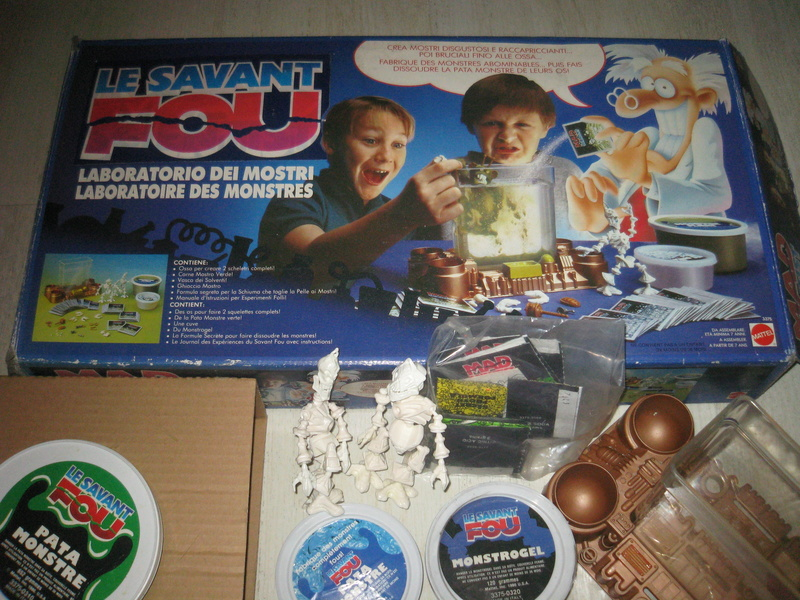 Le Savant Fou / Mad Scientist MATTEL Ms_lab18