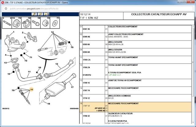Question sur la plaque fermeture d'embrayage 206 1.6 8s Embray11