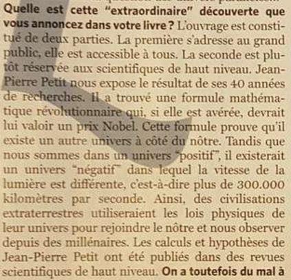 (2017) J-P Petit & J-C Bourret : Ovnis, l'extraordinaire découverte. - Page 5 Extrao10