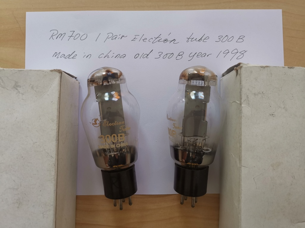 Election Vacuum Tube 300B (used) Img_2016