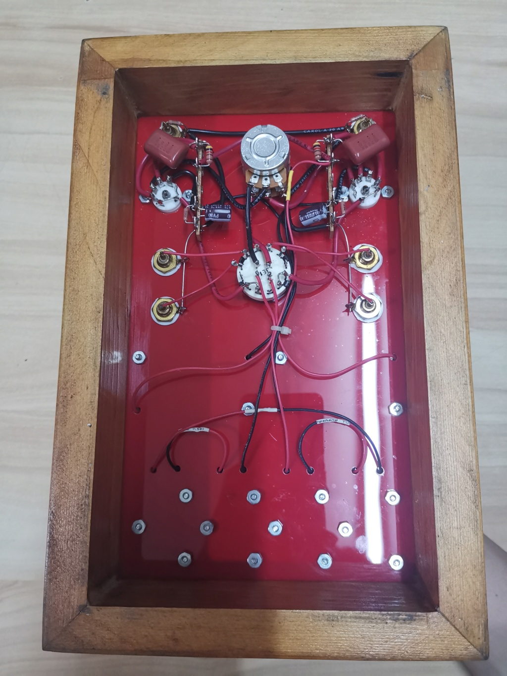 Battery powered 3S4 pentode tube preamplifier (used) Img_2024
