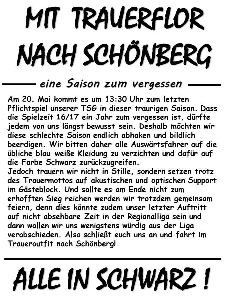 Letztes Auswaärtsspiel in Schönberg Schynb10