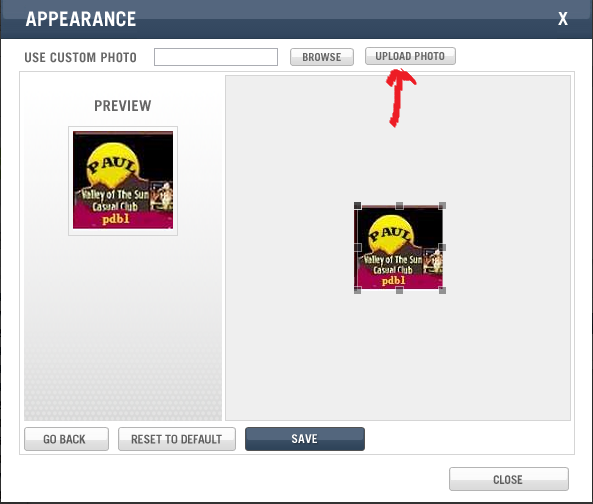 UPLOAD PROFILE PIC OR AVATAR IN WGT Click_16