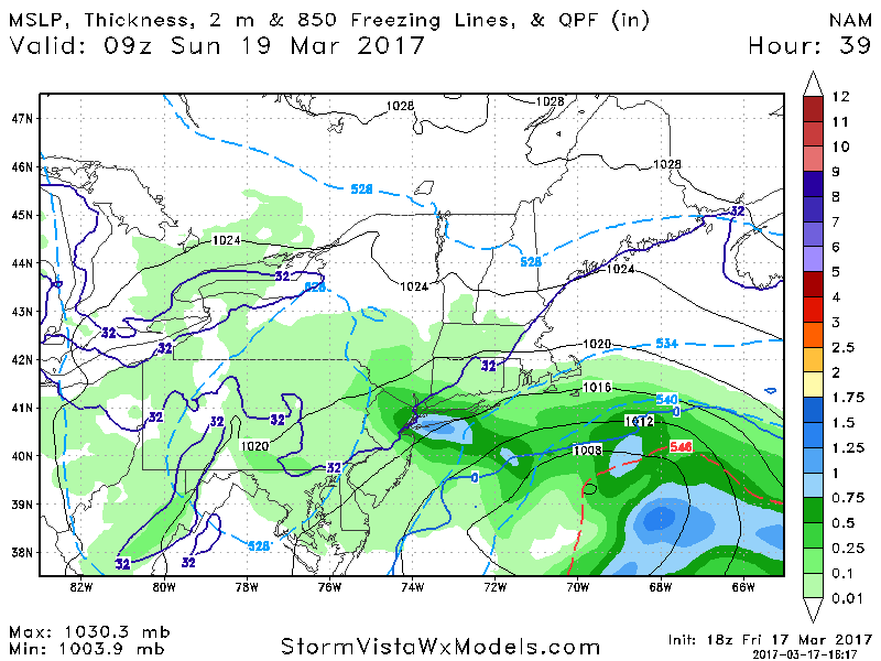 March 18th-19th Possible IVT Snow Event - Page 4 Nam_ms16