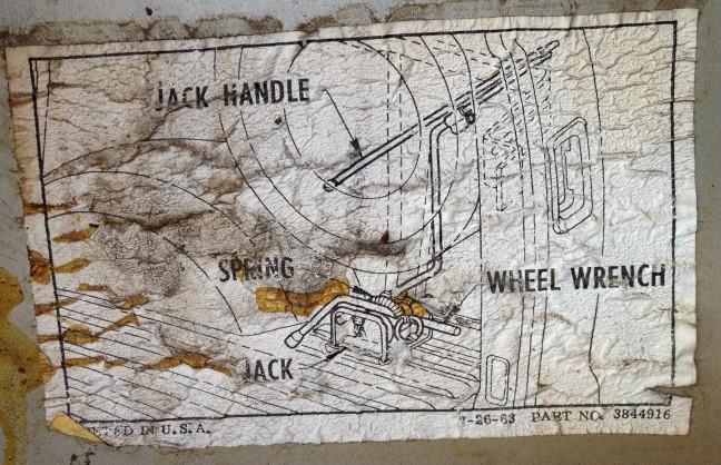Door latch label Jack_i11