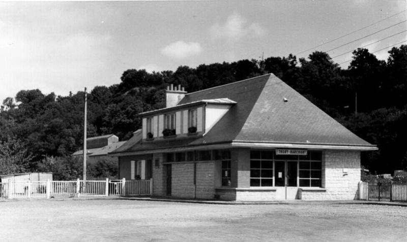la petite gare de Thury Harcourt 20170522