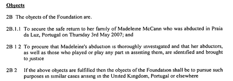 Fund set up to help find missing Madeleine McCann could be wiped out Object10