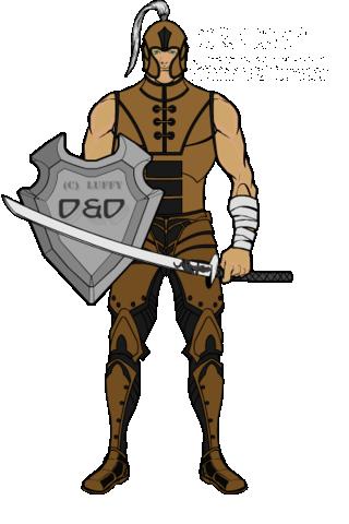 D&D Character sheet - Luffy. Hm3-be10