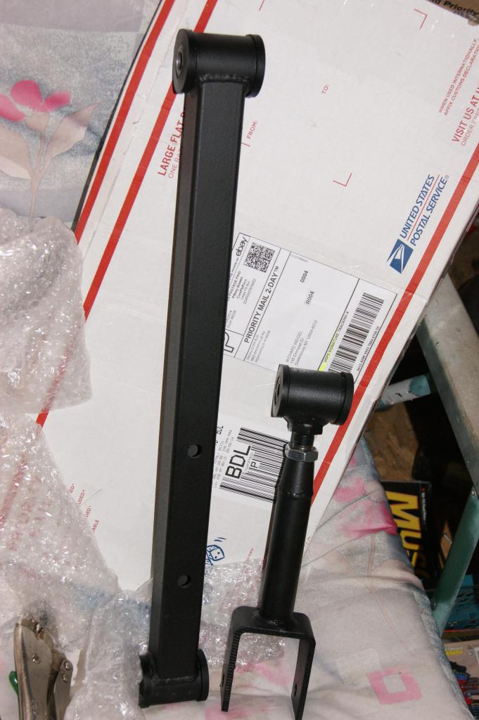 Aftermarket front upper and lower control arms  Souths10
