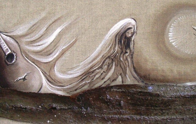 IL NEIGE SUR LONDRES Peintu11
