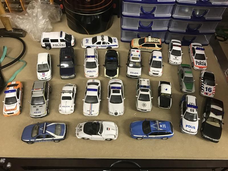 Collezione auto polizia 20170410