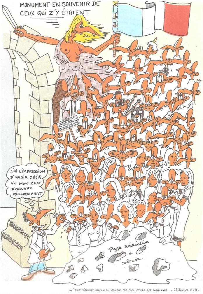 [ LES TRADITIONS DANS LA MARINE ] Les caricatures dans la Marine La_pra12