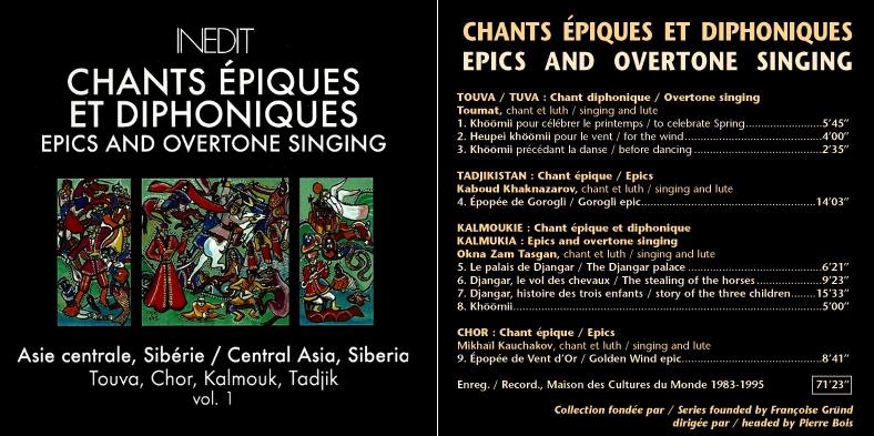 Musiques traditionnelles : Playlist - Page 15 Chants10