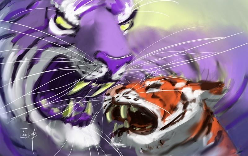 Les dessins de benjamin Tiger610