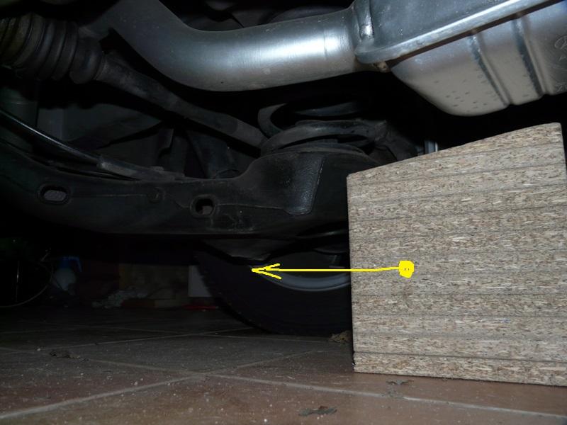 Changement plaquette de frein arrière - Vito CDI 112 année 2000 P1120214