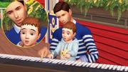 Poses Parents Enfants/Bambins 0628