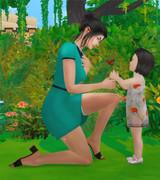 Poses Parents Enfants/Bambins 1026