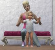 Poses Parents Enfants/Bambins 1125