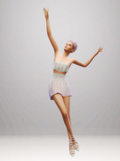 Poses de danse 1717
