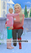 Poses Parents Enfants/Bambins 2216
