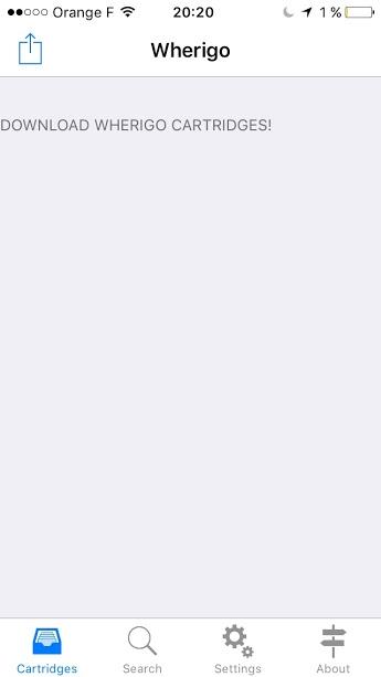 Installer et configurer Wherigo (Iphone) Iphone10