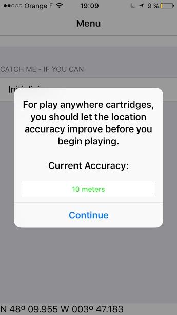 Installer et configurer Wherigo (Iphone) Iphone21
