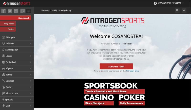 NITROGEN SPORTS: Bitcoin Sportsbook Screen10