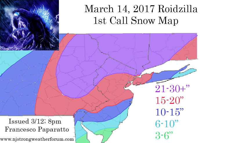 March 14, 2017 Roidzilla 1st Call Snow Map / Synopsis 1st_ca10