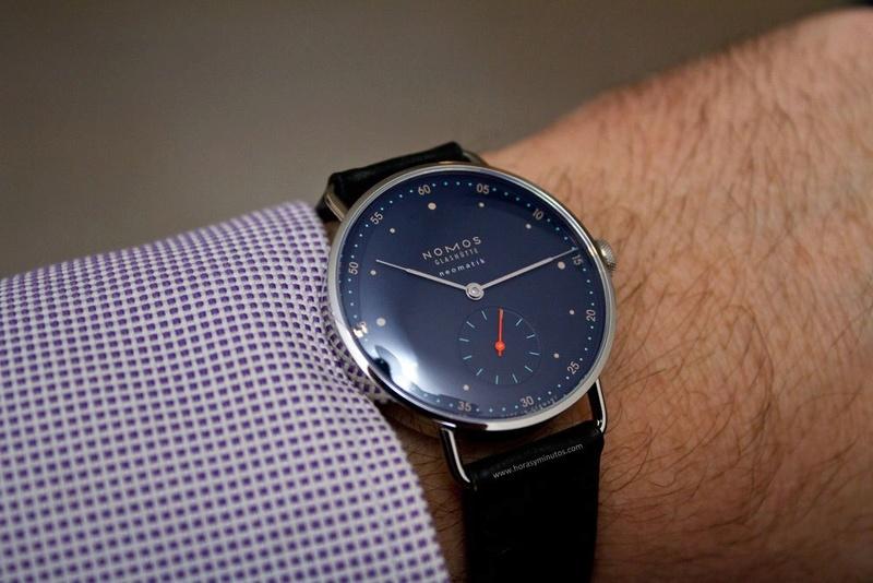Votre collection parfaite en 5 montres à 30K€ maximum. Nomos-10