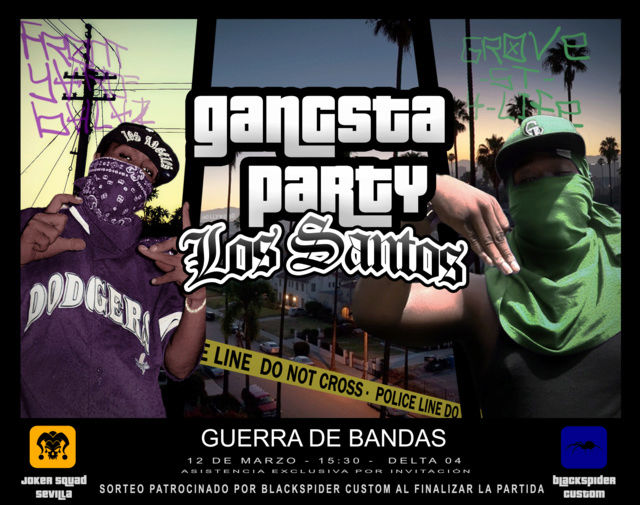 Gangsta Party (12-03-17) Cartel12