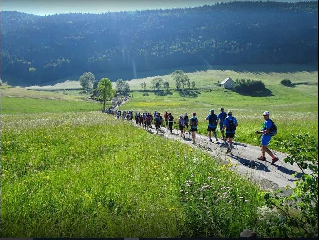 L'Euro Nordic Walk du Vercors : une grande fête et un beau rendez vous de la marche nordique  N1510
