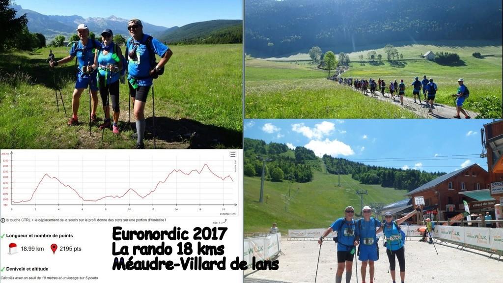 L'Euro Nordic Walk du Vercors : une grande fête et un beau rendez vous de la marche nordique  Rando110