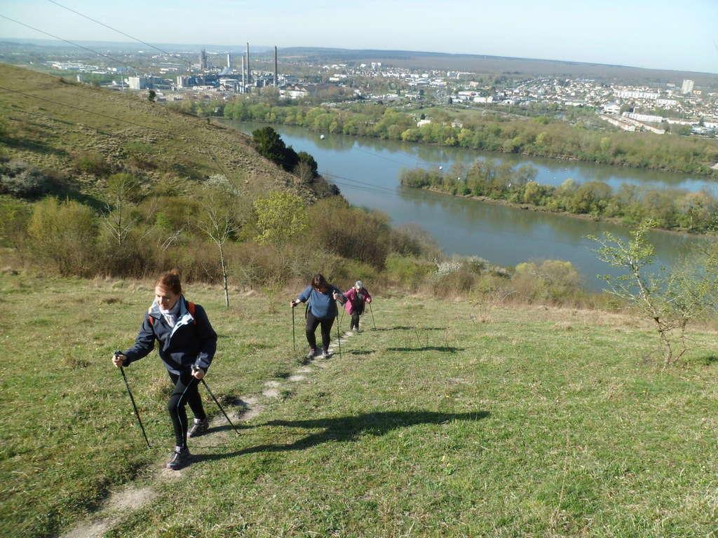 Sur le panorama de Belbeuf lundi et jeudi ensoleillés de ce printemps  Sam_4923