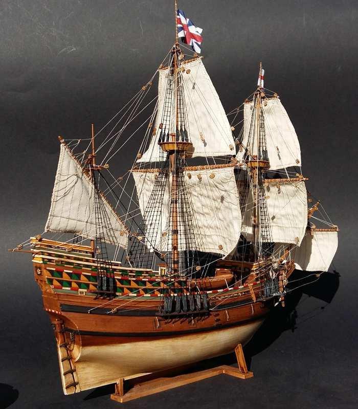 Mayflower, Revell 1:83? wohl eher 1:110 das Nebenprojekt - Seite 2 Comp_210