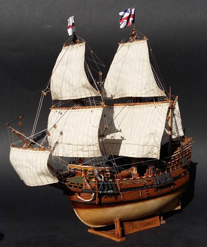 Mayflower, Revell 1:83? wohl eher 1:110 das Nebenprojekt - Seite 2 Comp_211