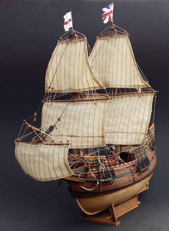 Mayflower Pilgrim-Ship, Revell 1/83 Comp_212