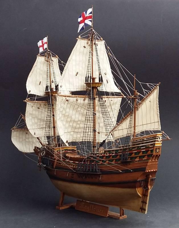 Mayflower Pilgrim-Ship, Revell 1/83 Comp_214