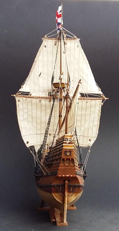 Mayflower Pilgrim-Ship, Revell 1/83 Comp_216